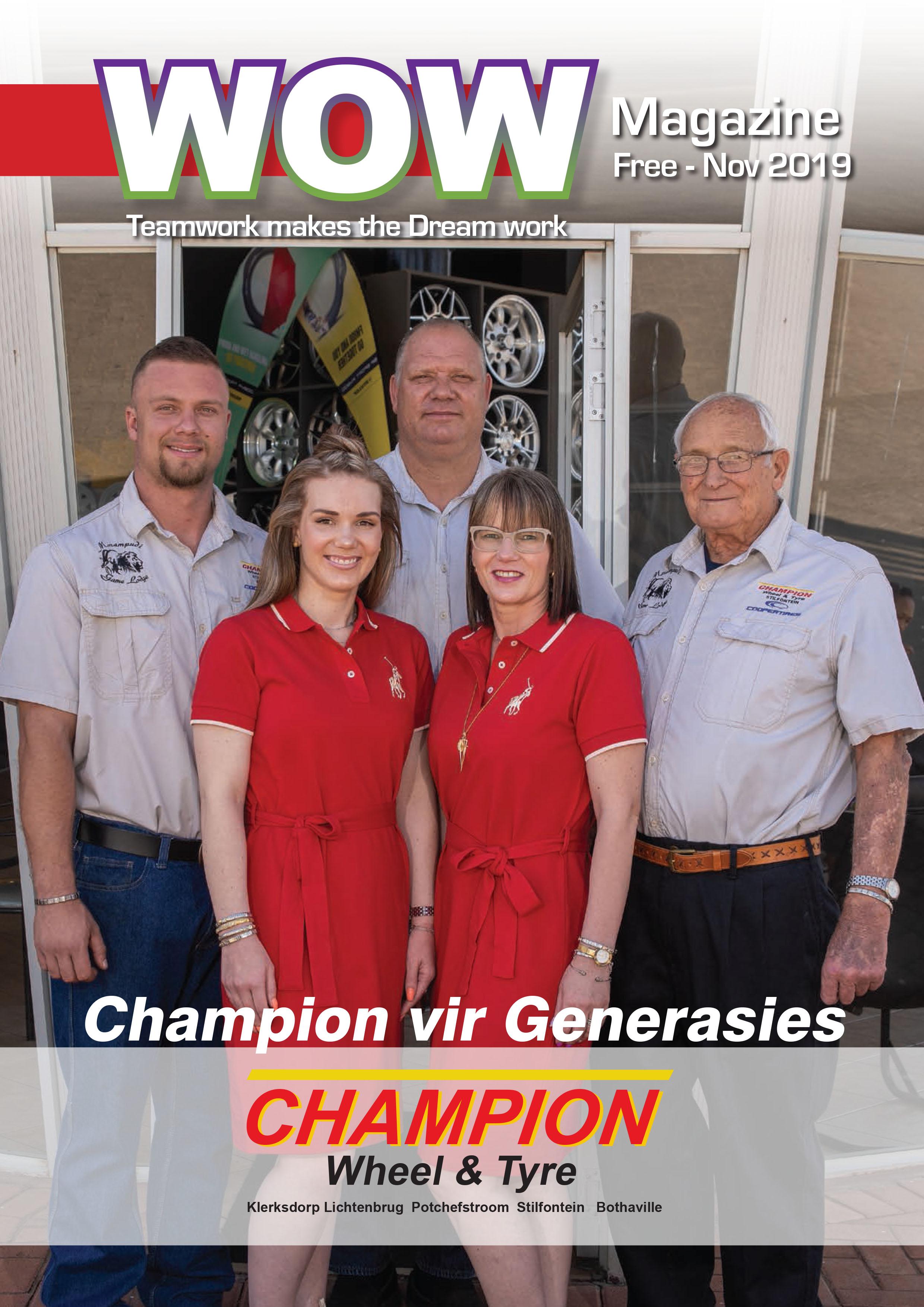 Champion vir Generasies